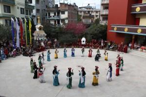 Tara dances