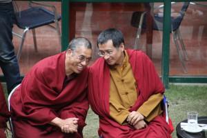 Dzogchen Ponlop Rinpoche and Acharya Lama Tenpa Gyaltsen