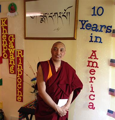 Khenpo Gawang Rinpoche