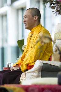 Sakyong Mipham Rinpoche in California, photo by BHH Studios