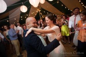 Bryan and Leigha dancing
