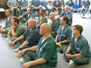 Group Learning Mindfulness in Prison