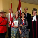 """Four Shambhalians become """"new"""" Canadians in the Heart of Kalapa"""