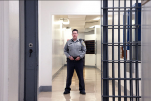 Oregon State Penitentiary Corrections Officer Laura Hinkle underwent mindfulness training at the prison, which has helped her in her work with prisoners and her life. photo courtesy of Beth Nakamura/The Oregonian