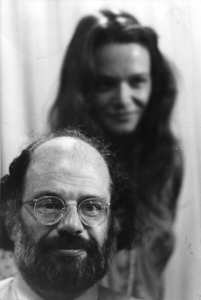Anne Waldman and Allan Ginsberg from the Naropa archives