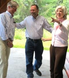 Jane Arthur, John McClung, Charlie Browne