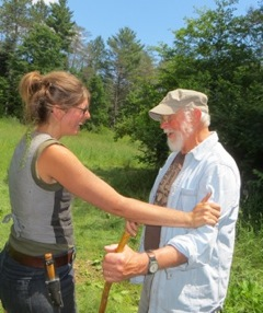 Elder Duncan Tingle with EarthWalk Mentor