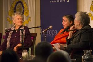 Joanna Macy, Vandana Shiva and Rev. Joan Brown Campbell