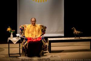 Sakyong Mipham at Bright Now, photo by BHH Studios