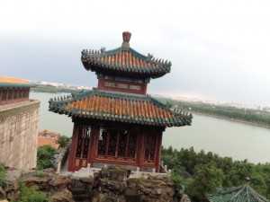 view by the Summer Palace