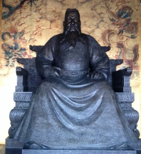 Statue of Emperor YongLe