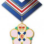 Receiving the Order of Nova Scotia