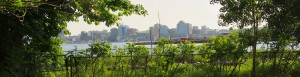Ryan's favorite view of Halifax from across the water