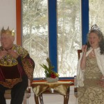 Karme Choling's King and Queen: Shastri Bill Brauer and Ms. Ella Reznikova