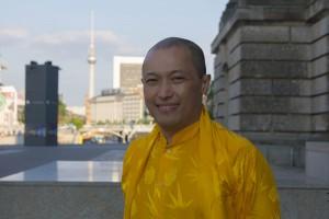 Sakyong Mipham Rinpoche in Berlin, photo by Katja Aßmann
