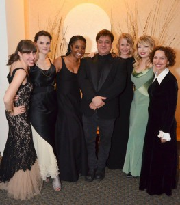 Shambhala Ball Committee (L to R: Alison Pepper, Katherine Lieberson, Ericka Phillips, Joe Mauricio, Beth Bloom, Ashley Dinges, Ana Maria Jomolca)