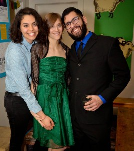 Celestina Leon, Jessica Rothschuh, Christian Florez