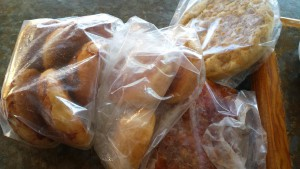 ​This is bread made by a neighbor of Windhorse Retreat Center - delivered fresh and warm!​