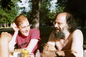Young Mr. Bothwell with Allen Ginsberg