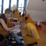 Gampo Abbey Welcomes a New Life Monastic
