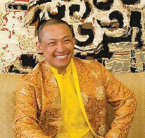 Sakyong Mipham Rinpoche, photo by