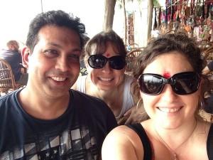 Harish Rao, Whitney Hall & Melinda Rothouse - Goa