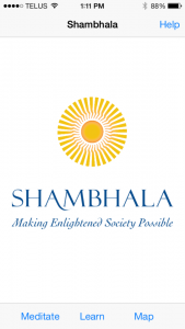 Improvements to the Shambhala App