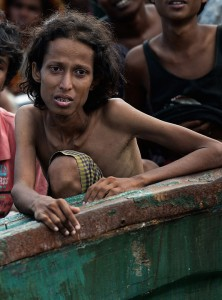 Rohingya boat migrants rescued in Indonesia