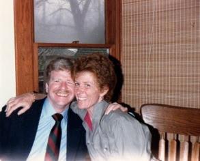 with husband Marty Krasney