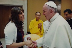 Aarti and the Pope 2