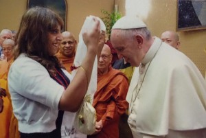 Aarti and the Pope