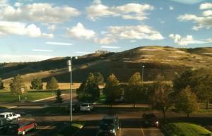 Colorado Springs Afternoon light through a window