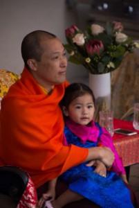 Sakyong and Jetsun Yudra