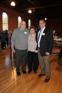 Con Hogan, Ellen Kahler, Stuart Comstock Gaye (CEO of the VT Community Foundation)