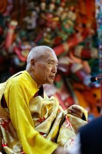 His Eminence Namkha Drimed Rinpoche