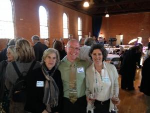 Jane Arthur, Scott Robbins and Suzanne Trahey
