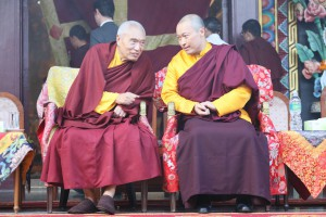 His Eminence and the Sakyong
