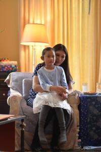 Sakyong Wangmo and daughter