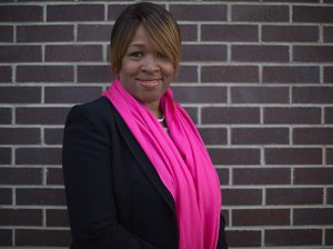 Marcenia Richards, the executive director of Fierce Women of Faith, poses for a portrait on Oct. 11, 2014 in Chicago, IL. The group works to promote peace in Chicago. Richards is a Christian but works with women of several faiths. These photos would be portraits of her.