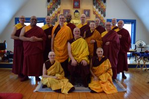 The Shambhala monastic community