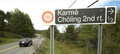 Karme-Choling-Road-Sign-245x110