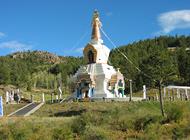 stupa-on-hill