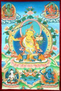 Five forms of Manjushri