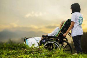 hospice care, open sky